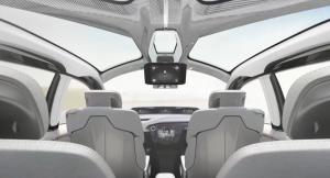 Interieur des Chrysler Portals