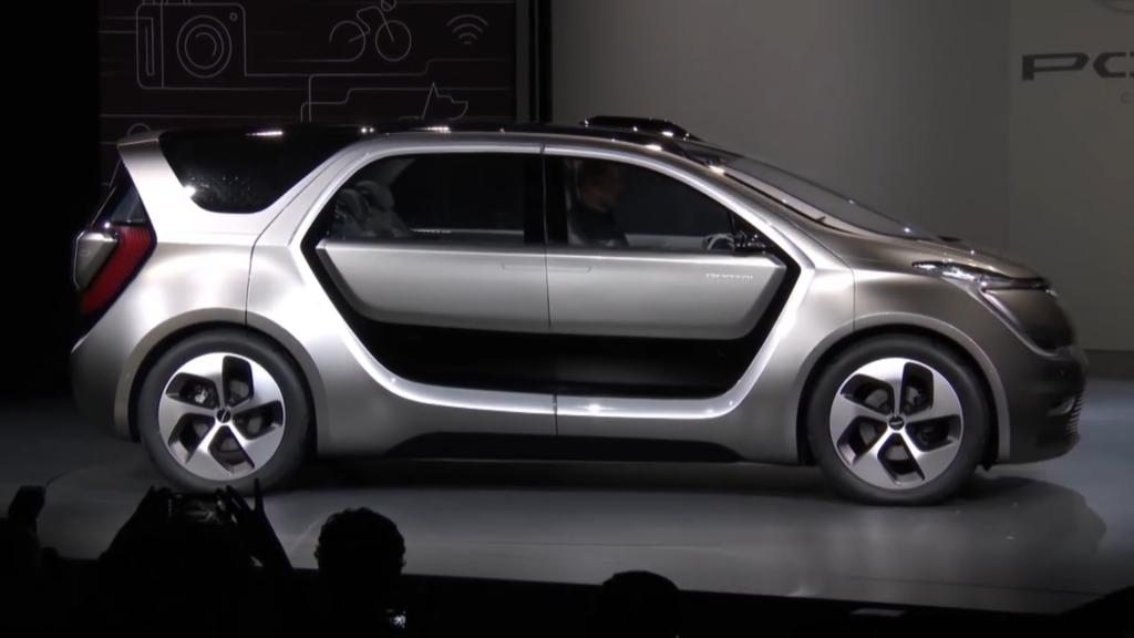 Der Chrysler Portal von Außen